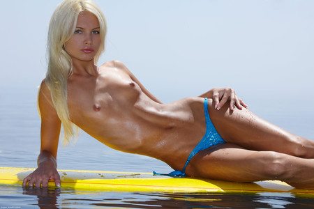 Surf Naked Francesca